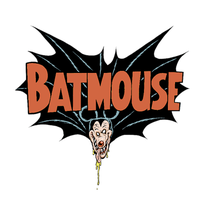 Batmouse t-shirt design by rattlesnapper