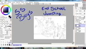 Previous SSBoys Jumping by Shimgu