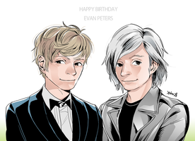 HAPPYBIRTHDAY_EVANPETERS! by yahuxx28