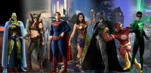 Justice League of America by abask5