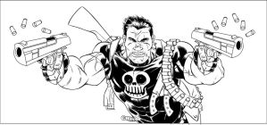 Punisher WIP by ozthepowerful