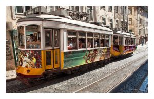 Lisbon - street car by Jack-Nobre