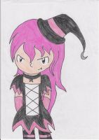 Pink Witch by Katrins23