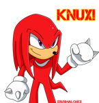 Hey look! it's Knux by xRubiMalonex