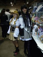 CCEE 2014 Mami n Homura by QTZephyr