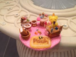 Winnie the Pooh's bathroom by Brownie314