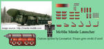 Advance Wars - Mobile Missle Launcher Sprites by Leonartisan