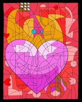 Love is an Abstract by LegenDesign