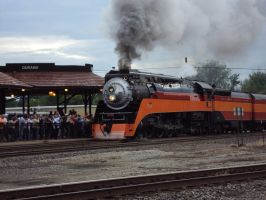 Southern Pacific 4449 at Durand by Mackinac-Mac