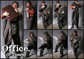 Office - Pack 1 by Cobweb-stock