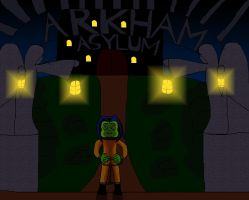 Request - A Frog in Arkham Asylum Cover by Arias87
