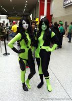 London MCM Expo Oct 2014 - Shego and Shego! by PhaseChan