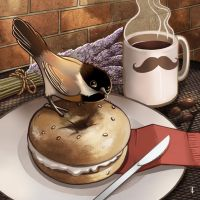 The Bagel Thief by TLCook