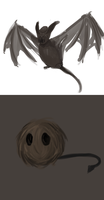 Creature concepts by Dreamfollower