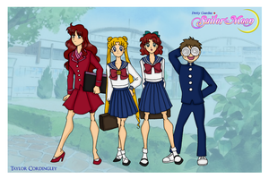Sailor Moon - Juuban Junior High by Femmes-Fatales