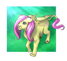 Fluttershy-Lioness by IceCatDemon