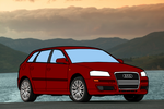Audi A3 Vector by Profesco