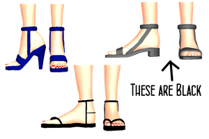 MMD Tsundade's Shoes DL by 2234083174
