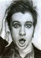 Brendon Urie ATC by yib91