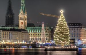 Christmas at Inner Alster in Hamburg by DeejayMD