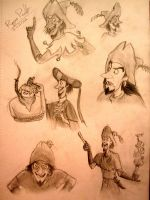 Clopin from The Hunchback of Notre Dame by Jakiron