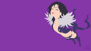 Merlin (Nanatsu no Taizai) - Minimalist Wallpaper by xVordred