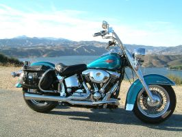 Harley Davidson Motorcycle by dakinddarkness