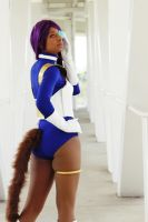 Megacon 2014: DragonBall Z Cosplay (Haruka) by MakeupSiren