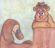 Play piano Rowlf and Fozzie by MoonCREEPER