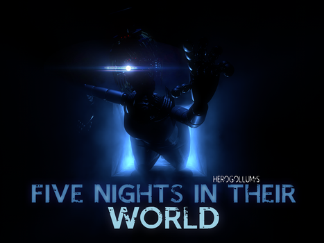 Five Nights in Their World - Poster (RINGS STYLE) by HeroGollum