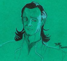 Loki sketch by juanjosilva