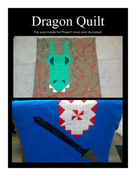 Dragon Quilt by kibiart