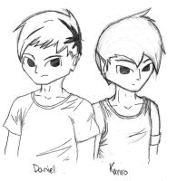 Daniel and Kanro by DerCouch