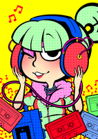 Franny Music Mix! by DarkChibiShadow