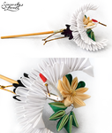 Serene Flight Kanzashi by SincerelyLove