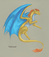 Pepper Potts Dragon by Imbecamiel