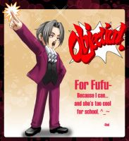 PW: Edgeworth for Fufu by omittchi