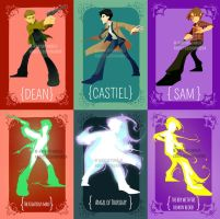 SPN: Team Free Will Bookmarks by Addicted2Kura