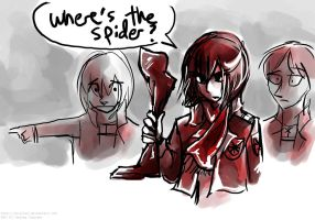 Where's the Spider by Tavoriel