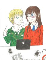 aph: Working in a relaxed atmosphere (request) by LoveEmerald