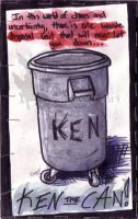 Ken The Can by CorvidaeArt