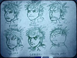 Faces: 6 Styles 2 by PhiTuS