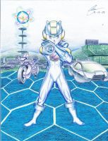 Rockman EXE Metallic by KingOfShu