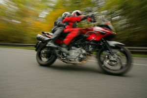 Suzuki V-Strom 650 - action by RadeCZECH