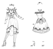 2 custom outfits for Sugar-Bells by JessyB-Design