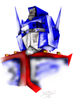 Optimus Prime - Cubism by magigrapix