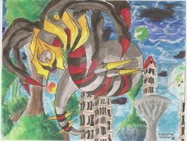 Giratina in the Reverse World by SubwaymasterMegumi