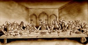 Goblin Supper Time by Mortis-of-midian
