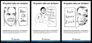 Vagverket advertising campaign by JohanNordstrom
