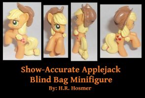 Show-Accurate Applejack Blind Bag by Gryphyn-Bloodheart